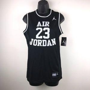 Air Jordan Black & White Jersey